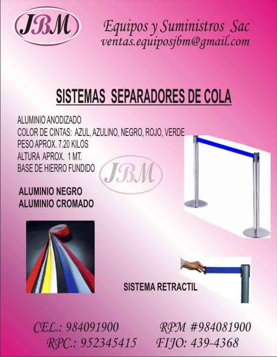 Ordenador de Cola  Fila sistema  Lima