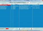 Sistema-software para administracion de gimnasios