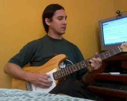 Clases de guitarra electrica y acustica a domicilio