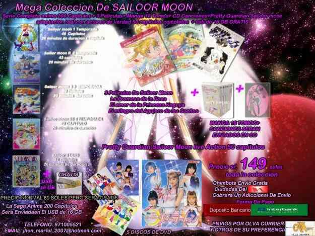 Mega Coleccion De Sailoor Moon