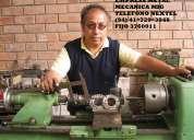 Reparacion y mantenimiento de torno revolver, paralelo y atomÁtico