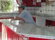 Mesa tablero cocina granito marmol lima