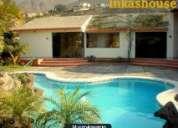 Alquilo casa -club con piscina en la molina..ideal eventos matrimonios reuniones bautizos,