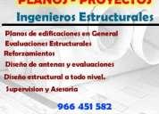 Planos - ingeniero civil - proyectos