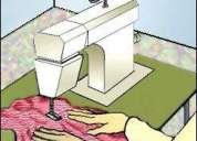 Costureros recteros, cerradores, enbibadores