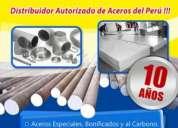 ¡aceros especiales e inoxidables! distribuidor autorizado de aceros del peru !!!