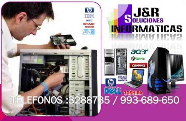 Tecnico de Computadoras,Laptops,redes,Formateos,programas full,a Domicilio