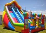 Saltolandia alquiler de juegos inflables en lima  -lima