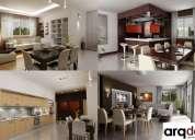 Diseño de interiores - arquitectura acabados