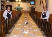 Ofrecemos servicio de barman, mozos, azafatas y anfitrionas para todo tipo de eventos