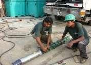 Construcciones y perforaciones de pozos tubulares peru estudios hidrogeologicos mantenimie