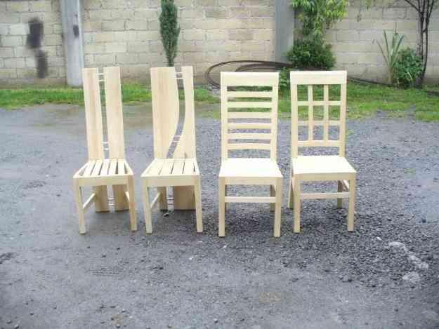 Carpintero especialidad en sillas de madera arequipa for Como hacer sillas de madera para comedor