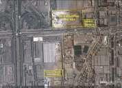 Terreno industrial en alquiler de 4.500 m2. con zonificacion i3, distrito de ate.