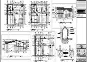 Arquitectura y diseño - proyectos y dibujos en autocad