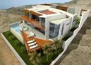 Diseños de casa de playa arquitecto estilo minimalista