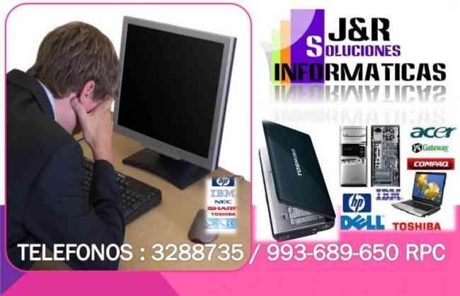 tecnico Computadoras laptops Cabinas y redes,a Domicilio