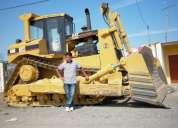 Busco trabajo de operador de tractor de oruga o excavadora
