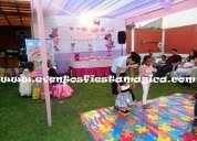 Casa para fiestas infantiles