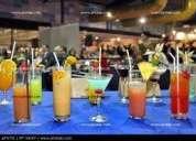 Barman profesional ofrece sus servicios particulares para todo tipo de eventos