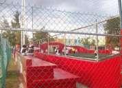 redes para canchas de tenis  •         redes de voleibol •         redes de futbol •         m