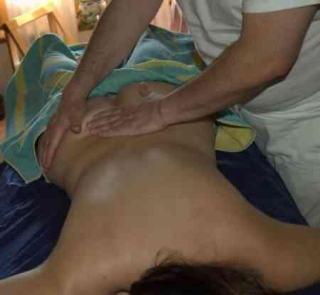 estudiante masajes a señoras