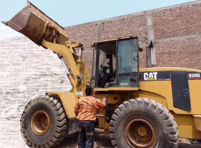 CARGADOR FRONTAL CAT 938G 2004
