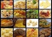 Cheffulises, buffet criollo, marino, parrilladas, anticuchadas...