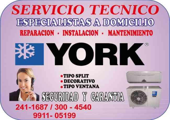 SOLUCIONES TECNICAS YORK  AIRE ACONDICIONADO 991105199