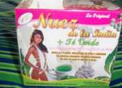 Nuez de la india + te verde