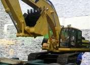 Excavadora caterpillar del 2003 330 bl