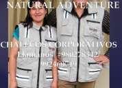 Chalecos publicitarios ropa para empresas e instituciones