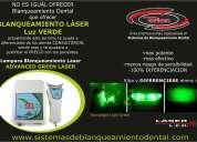 Lampara blanqueamiento dental laser advanced green