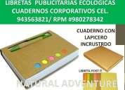 Cuadernos ecologicos block ecologico libreta ecolÓgica lapicero