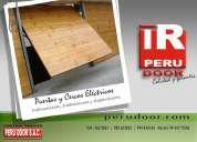 puertas de garaje peru door telf 4623061
