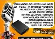 Instalacion de sistema karaoke asesoramiento venta de videos karaoke en lima peru