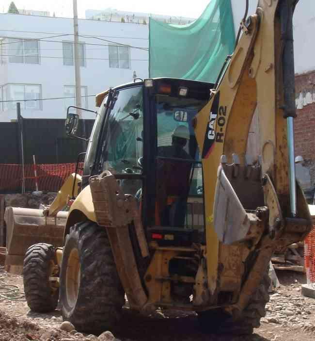 Retroexcavadora cat 416E DEL 2010 A SOLO $50000