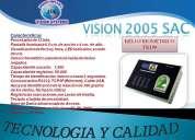 Reloj biometrico para el control de personal/lector de huella