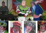 Show infantil para empresas: animación, payasos, pinta caritas