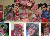 Fiestas infantiles con personajes y payasitos fono: 997120240