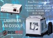 Vendo lampara para proyector sharp pgd2500x