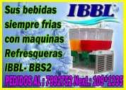 Maquinas refresqueras ibbl -bbs2 998722262 lima y provincias