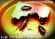Empresa de fumigacion, servicio de fumigacion en lima, fumigaciones telf: 792-0365 / 957-912-887