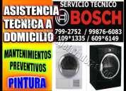 ·°¯`·• bosch servicio tecnico 7992752 tecnicos de lavadoras -secadoras en san isidro •·´¯