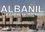 Albañil arequipa construcción civil