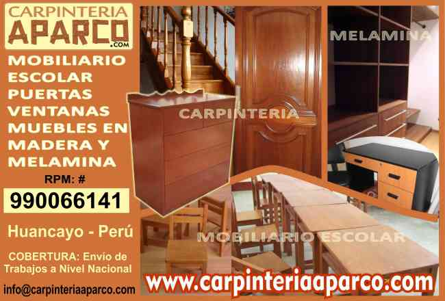 Carpinteria en madera puertas ventanas muebles camas for Curso de carpinteria en melamina pdf