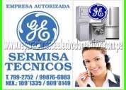 San isidro = servicio tecnico general electric = 2761763 lavadoras -refrigeradoras