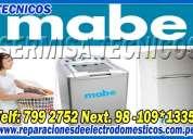 San luis - servicio tecnico mabe 2761763 refrigeradoras -lavadoras -san luis