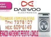 San borja -servicio tecnico daewoo 2761763 lavadora-secadora !! economicos!!