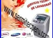 Lima y callao (( amana - panasonic - miray )) 2761763 reparacion de lavadoras
