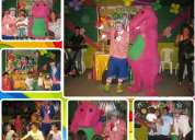 Show infantil con barney y sus amigos chalekito producciones